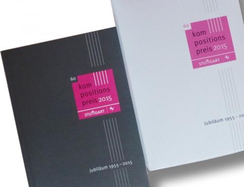 Landeshauptstadt Stuttgart, Kulturamt: Design Hardcover-Buch/Verpackung für 60 Jahre Kompositionspreis