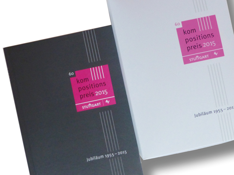 Broschüre Stuttgarter Kompositionspreis 2015