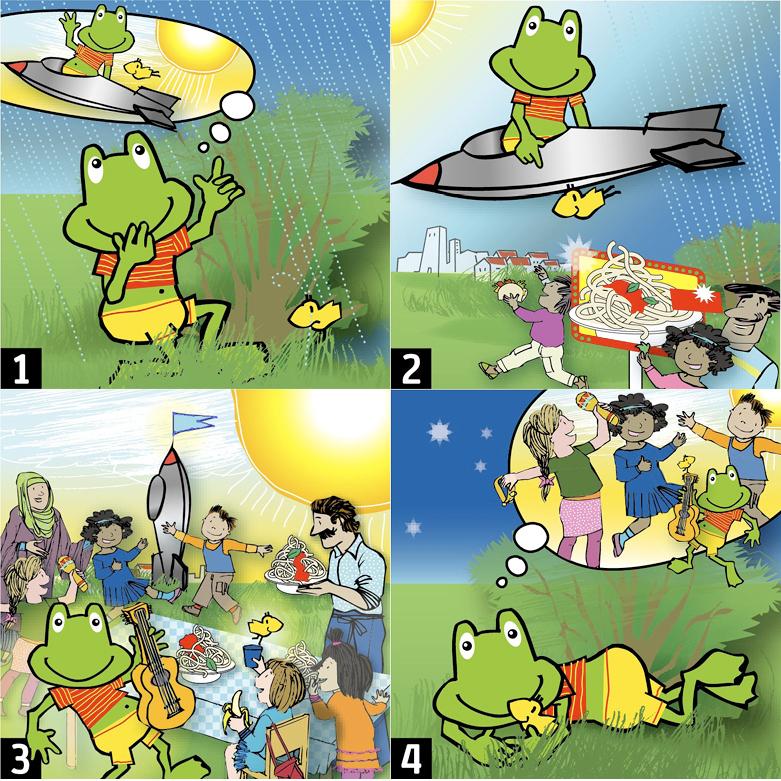 Wimmelbilder Kinder- Und Familienbildung, Programm KiFa