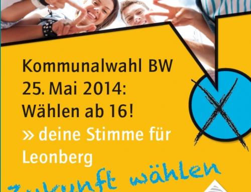 Kommunikationsdesign Stadt Leonberg, Bereich Jugend, Familie, Schule