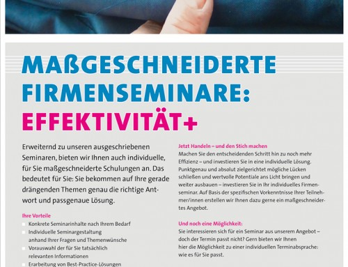 Bildung in Baden-Württemberg: für Fachkräfte Druck, Papier, Medien – ganzseitige Anzeigen Konzept, Text, Kreation