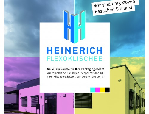 Imagebroschüre + Redesign Marke für Heinerich Flexoklischee in Pleidelsheim