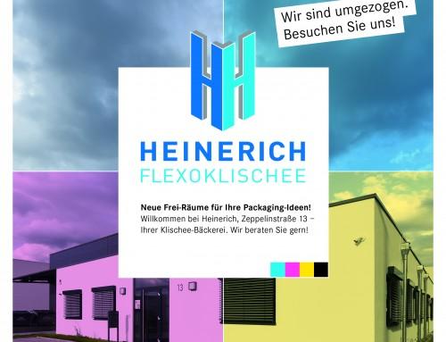 Imagebroschüre + Redesign Marke für Heinerich Flexoklischee in Pleidelsheim